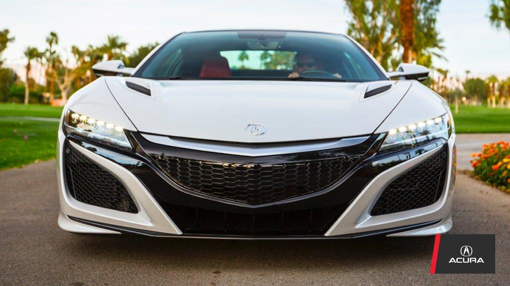 Acura NSX 2017 frente