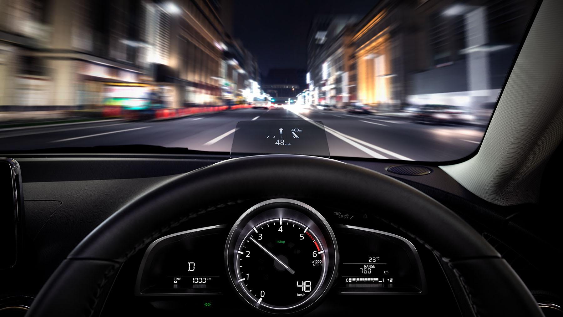 Mazda 2 2018 tablero