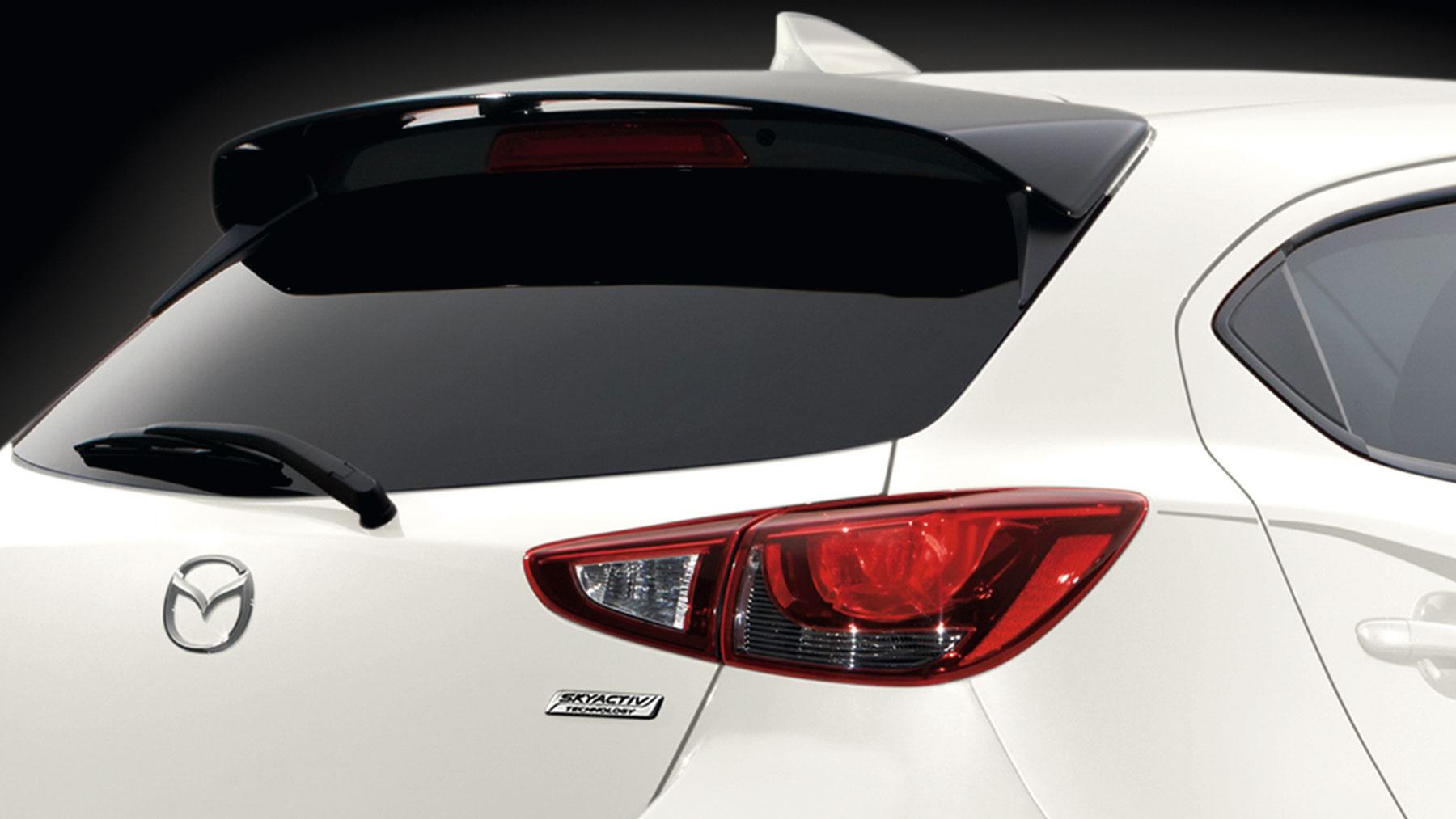 Mazda 2 2018 posterior