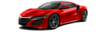 Acura NSX 2017 red