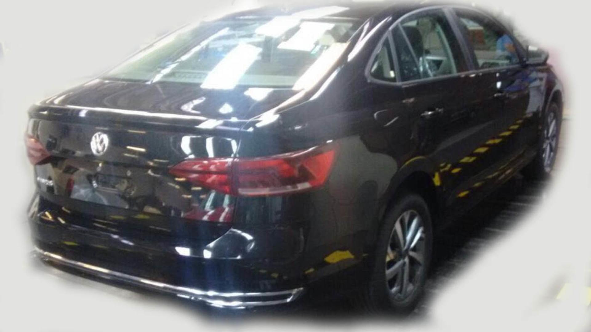 Volkswagen Virtus 2019, Vento Polo sedán 2019