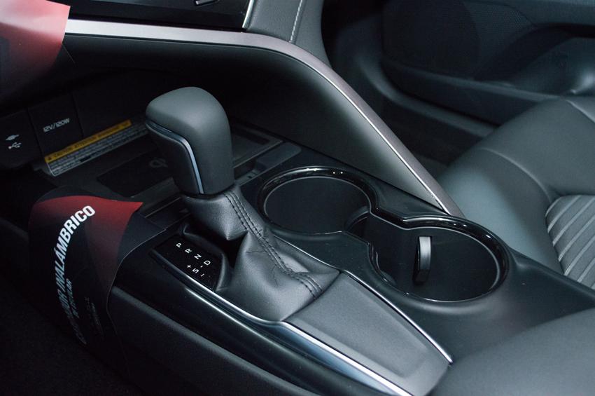 Toyota Camry 2018 detalle velocidades
