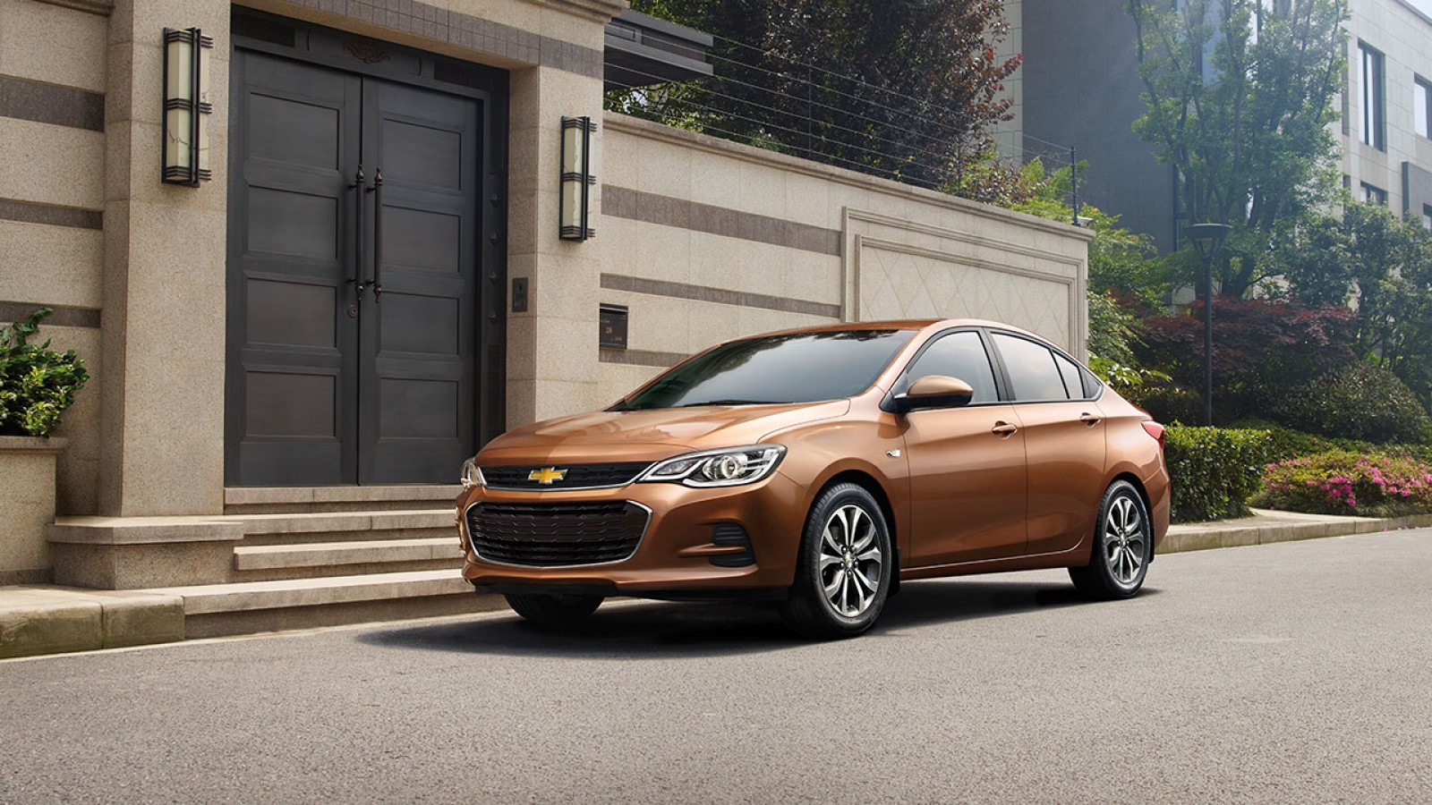 Chevrolet Cavalier 2018 perfil frontal