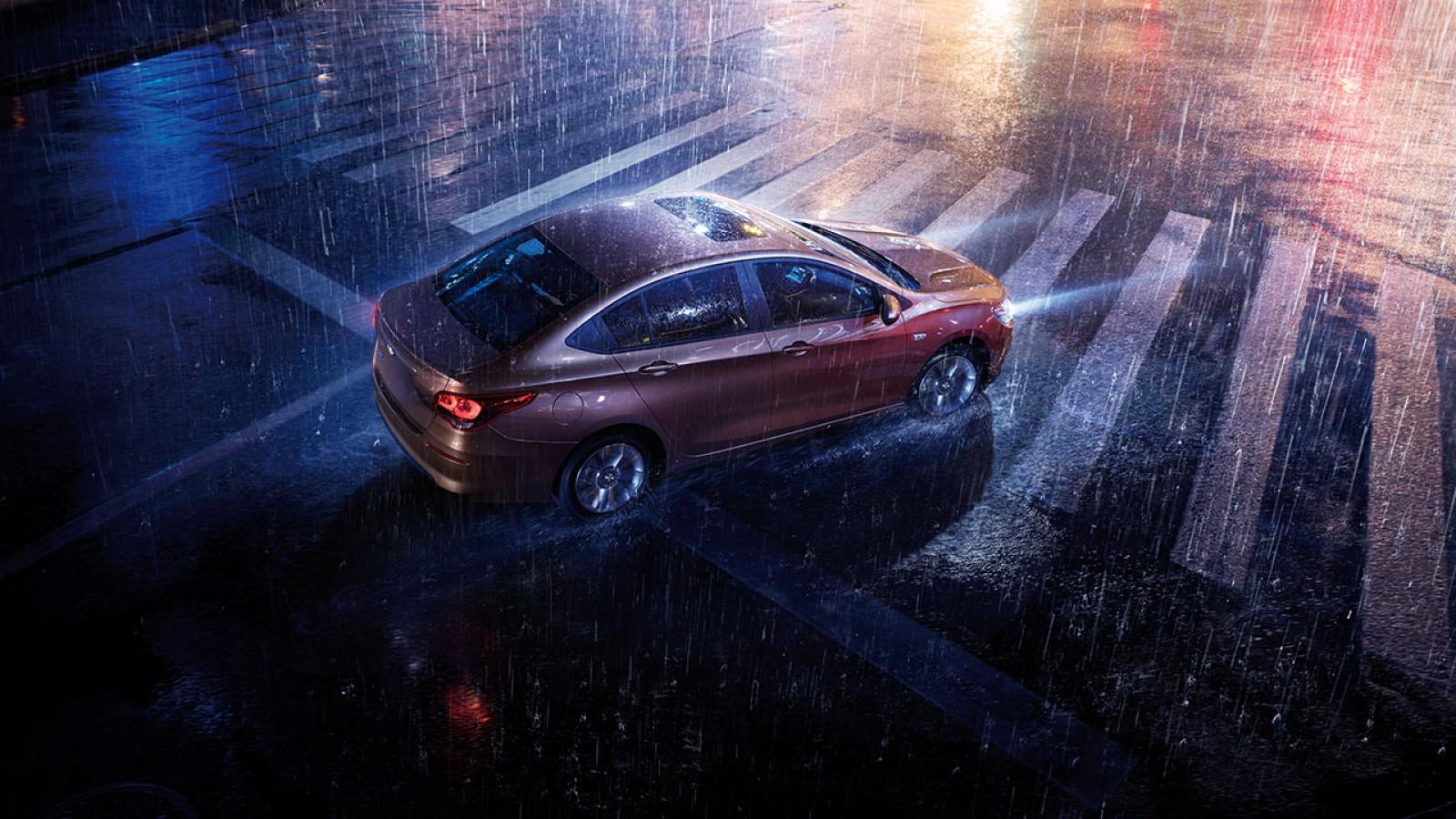 Chevrolet Cavalier 2018 vista cenital