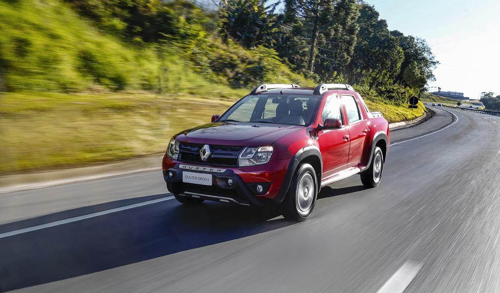 Renault Duster Oroch 2018 frente
