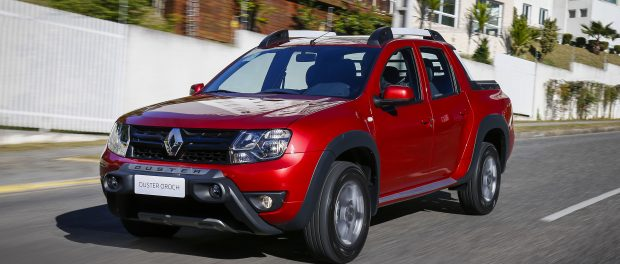 Renault Duster Oroch 2018 perfil frontal