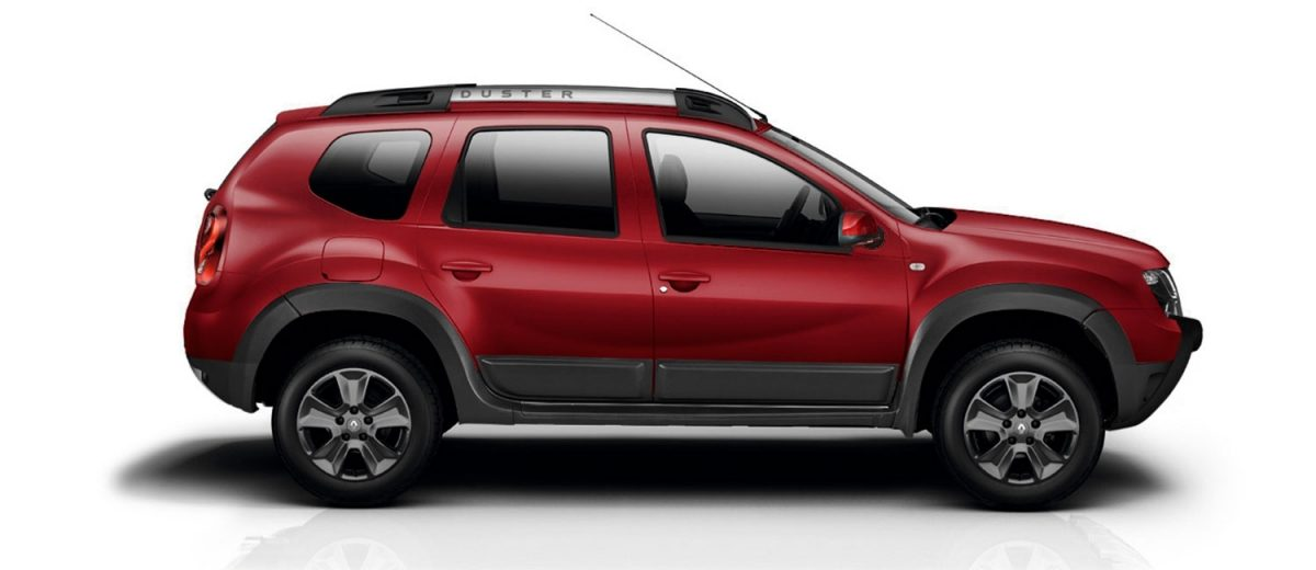 Renault Duster 2018 lateral