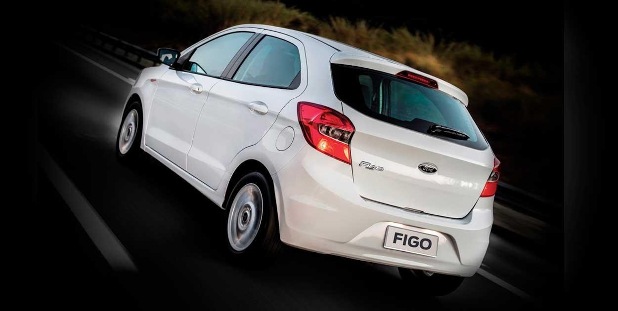 Ford Figo Aspire 2017 posterior