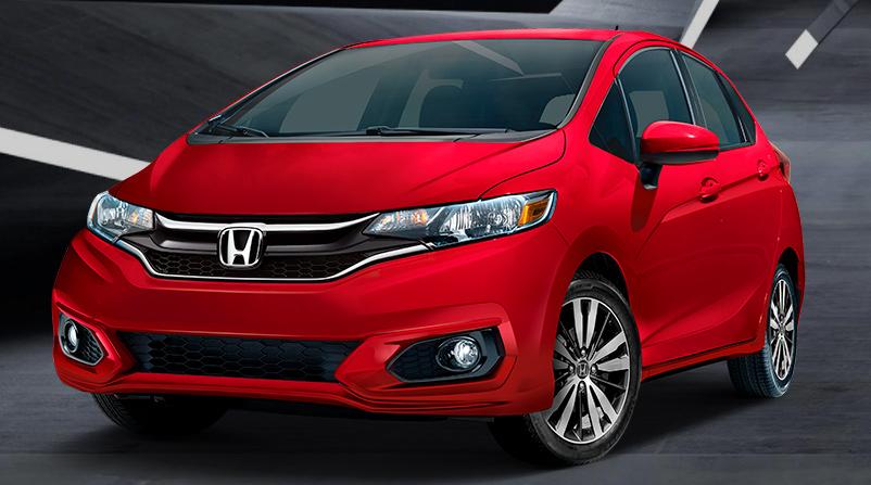 Honda Fit 2018 en México color rojo nuevos bumpers en faros de niebla y nueva parrilla