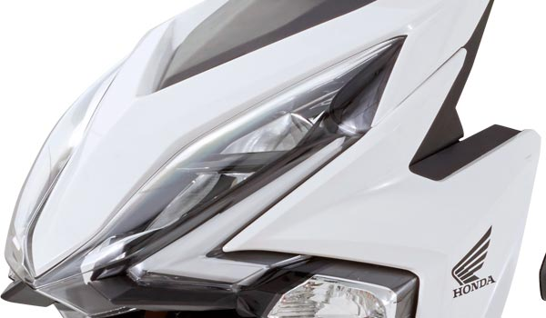 Honda Elite 125 2018 faros frontales