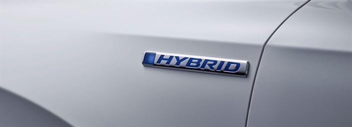 CR-V Hybrid Prototype