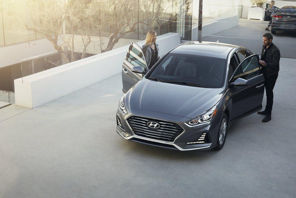 Hyundai Sonata 2018 frente