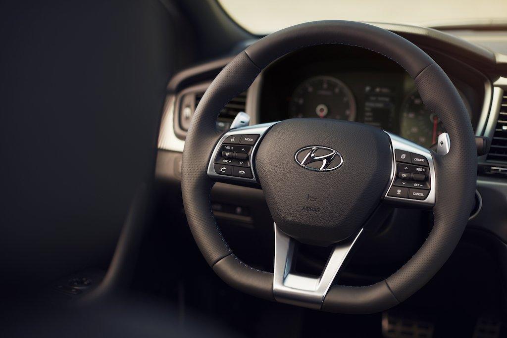 Hyundai Sonata 2018 volante