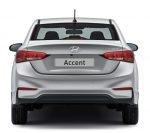 Hyundai Accent 2018 en México posterior cajuela