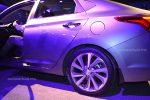 Hyundai Accent 2018 presentación en México diseño de rines aluminio