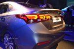 Hyundai Accent 2018 presentación en México faros traseros led y defensa