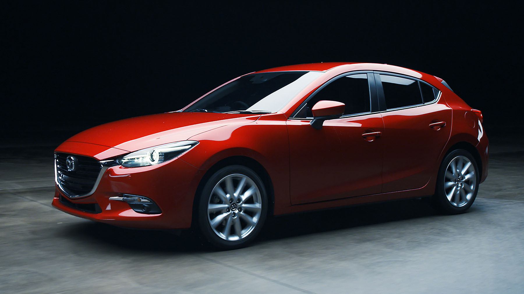 Mazda 3 2018 Sport U003eu003e Mazda 3 2018 Hatchback En México Color Rojo De Perfil