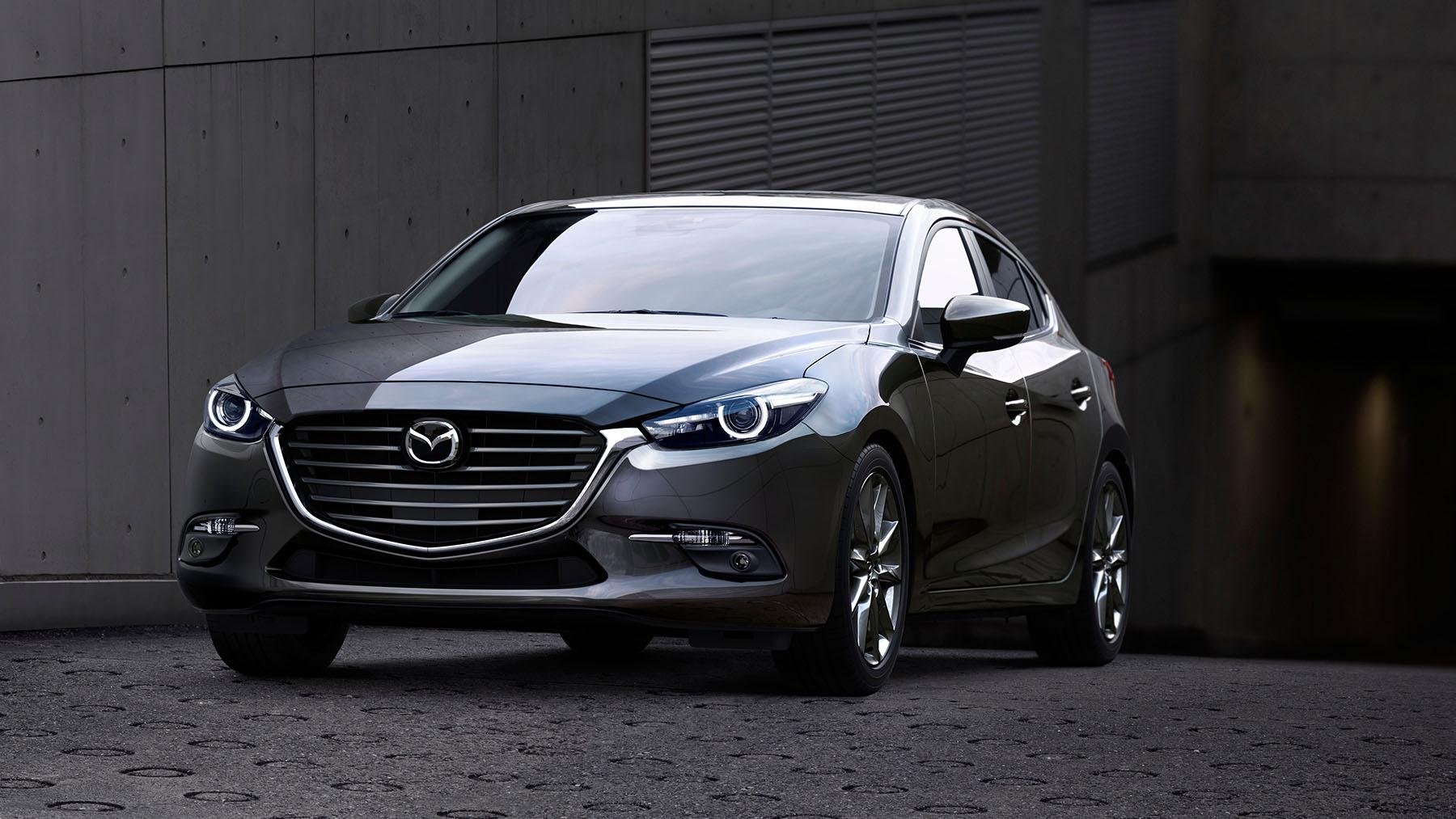 Mazda 3 2018 sedán en México color gris