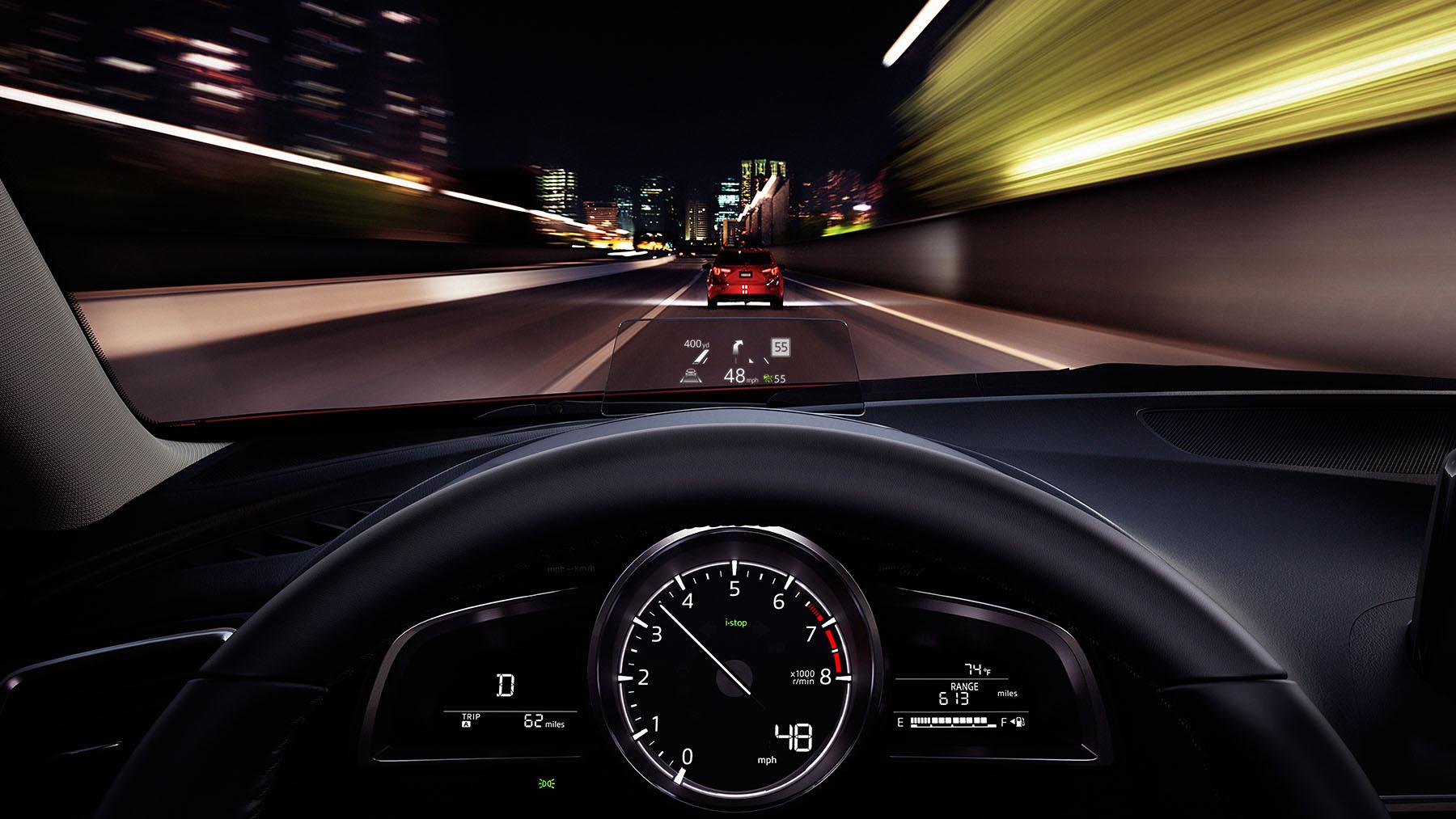 Mazda 3 2018 en México con Head Up Display HUD