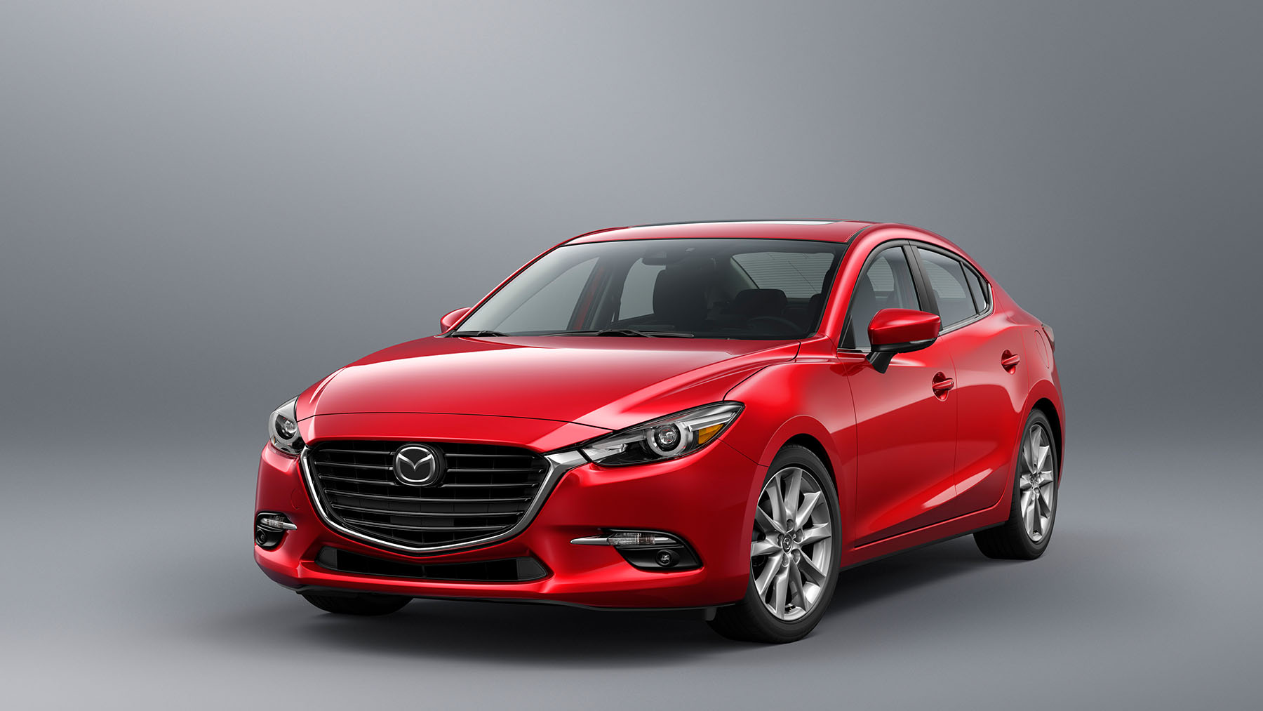 mazda 3 2018 sed n en m xico color rojo fondo gris autos actual m xico. Black Bedroom Furniture Sets. Home Design Ideas