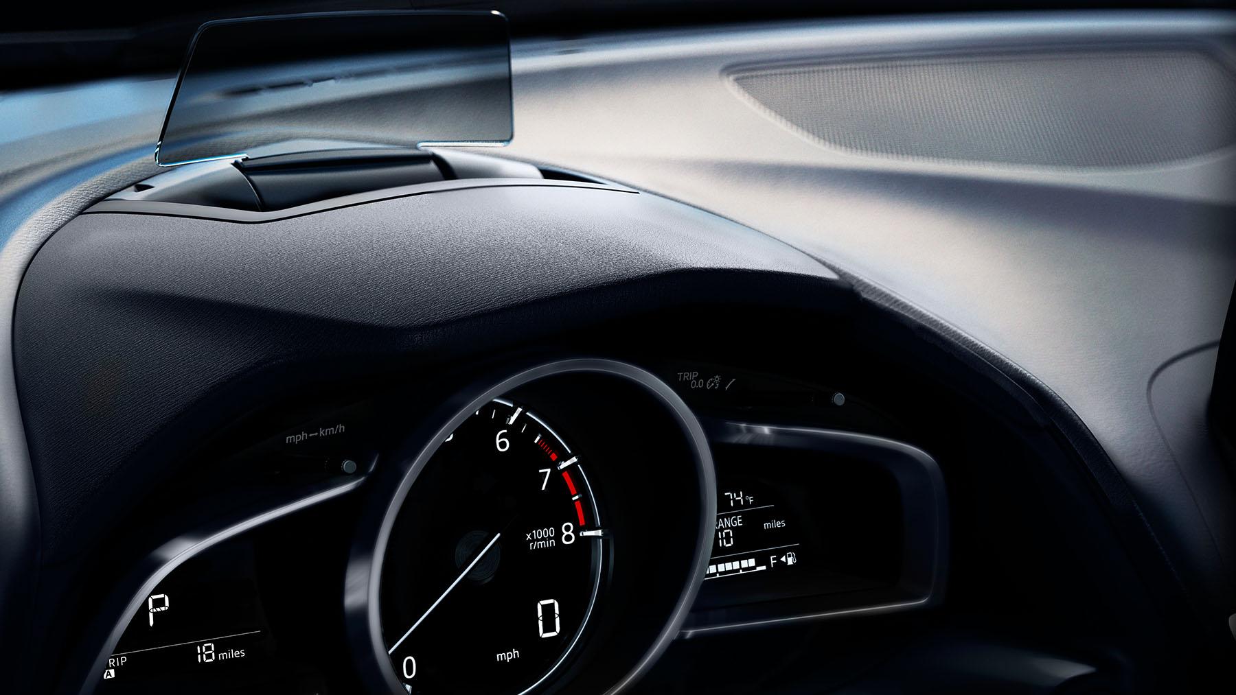 Mazda 3 2018 sedán tacómetro