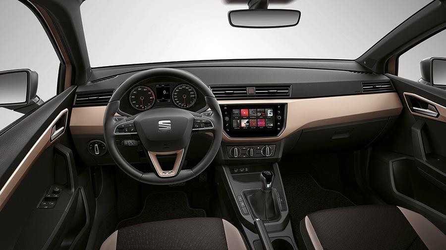 Seat Ibiza 2018 México interior más amplio y cómodo con pantalla touch de 8 pulgadas