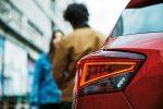 Seat Ibiza 2018 México color rojo faros LED traseros