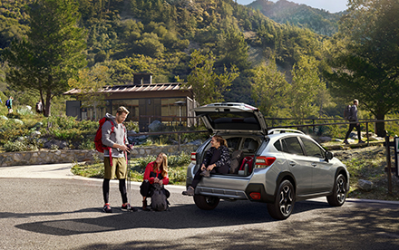 Subaru XV 2018 cajuela