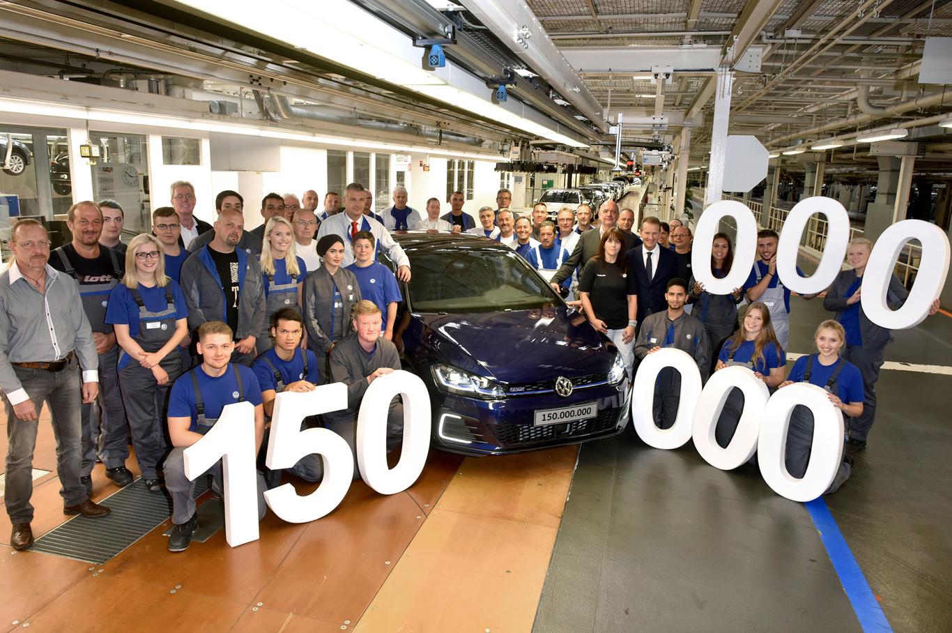 Volkswagen 150 millones unidades
