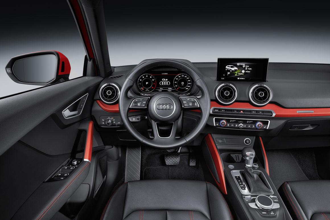 Audi Q2 2018 interior