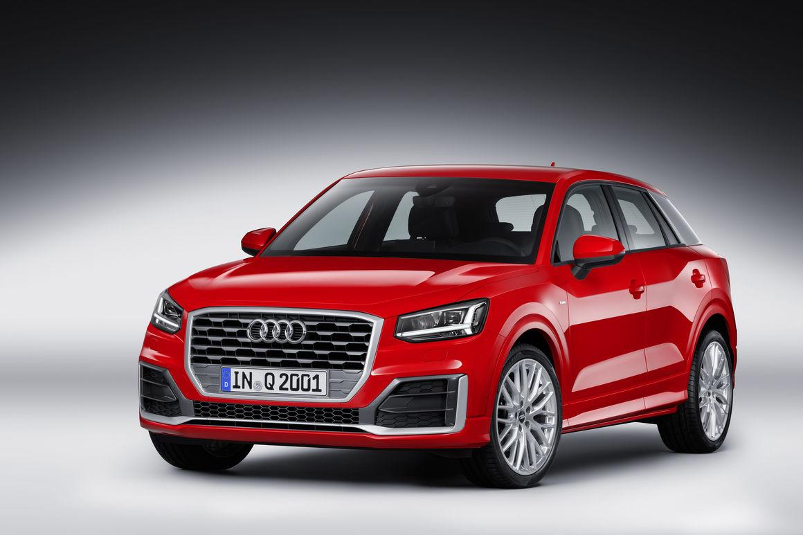 Audi Q2 2018 perfil frontal