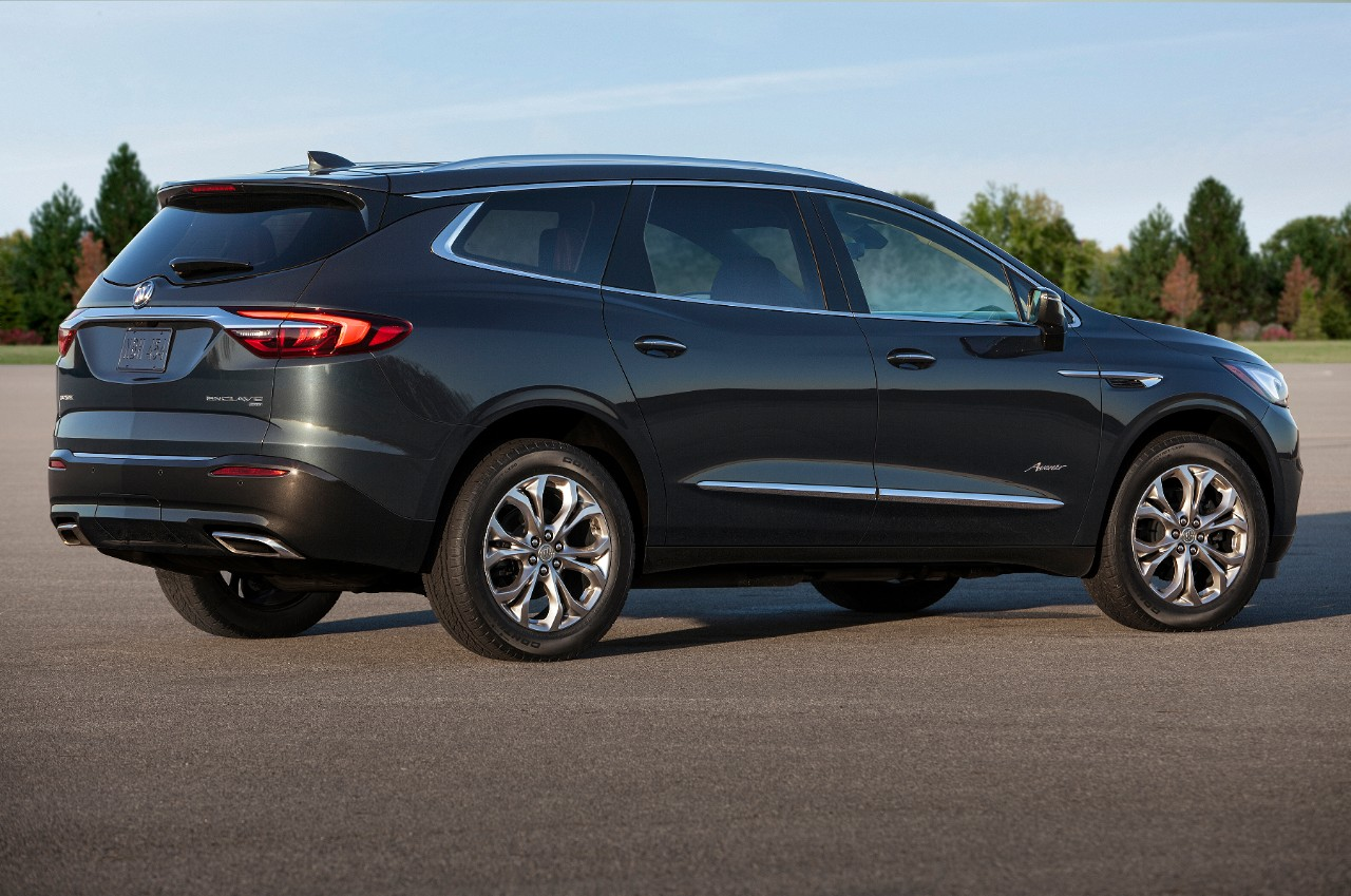 Buick Enclave Avenir 2018 lateral posterior