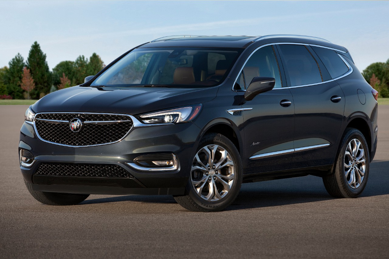 Buick Enclave Avenir 2018 lateral frontal