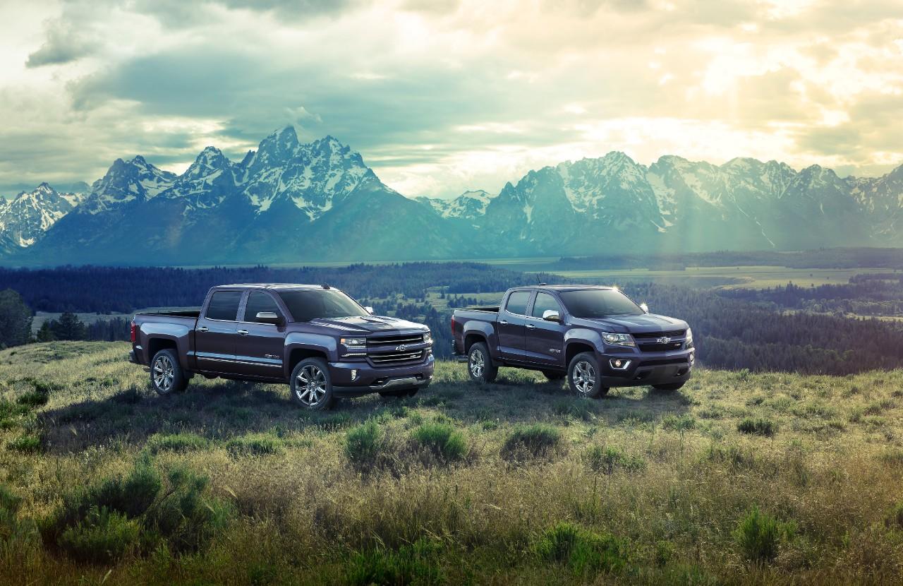 Chevrolet Colorado y Silverado Centennial Edition 2018