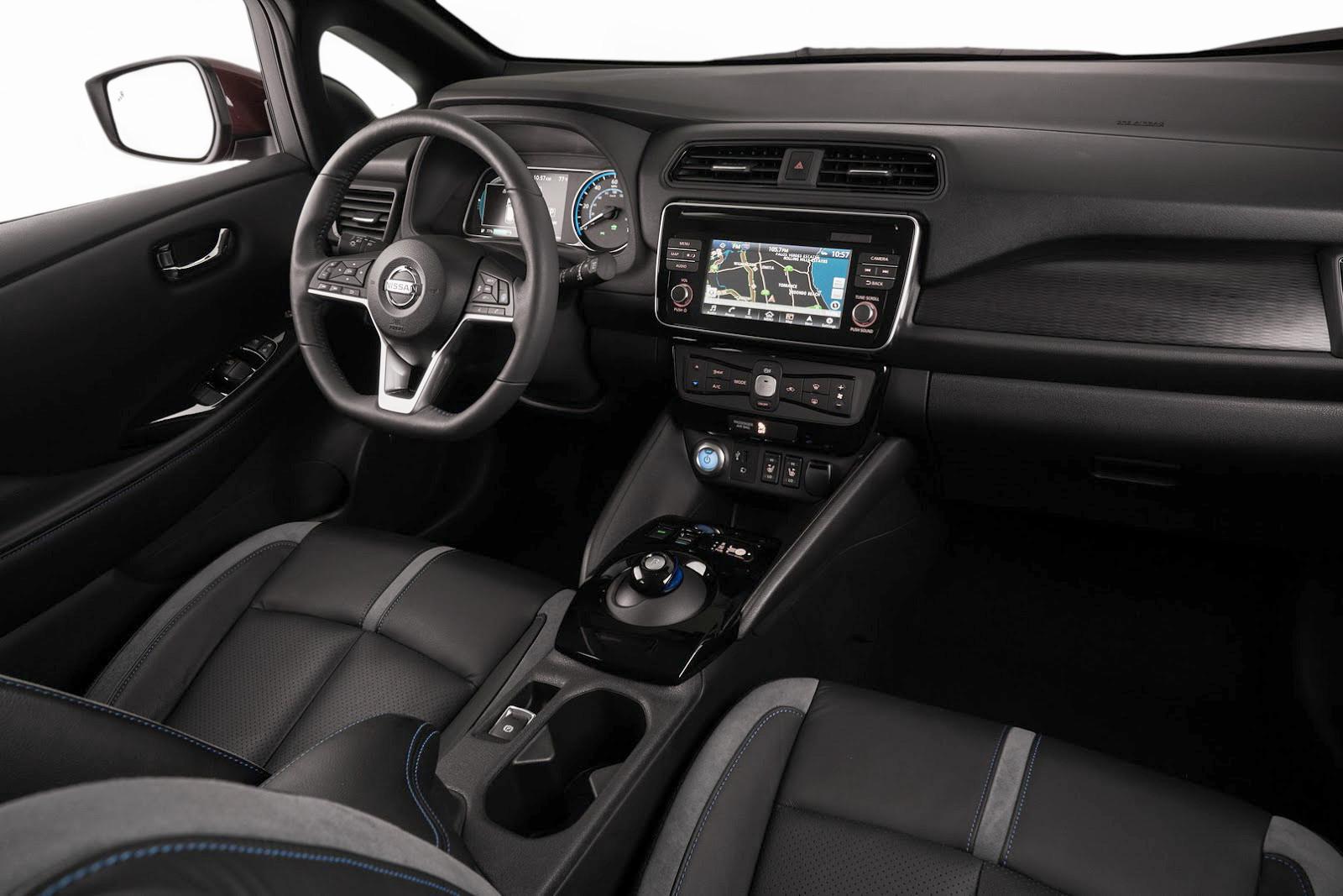 Nissan Leaf 2018 interior - Autos Actual México