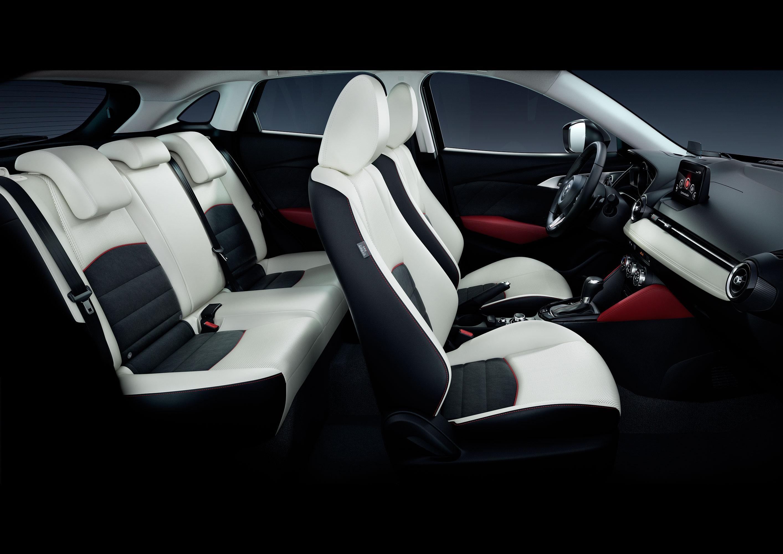 Mazda CX-3 2018 asientos