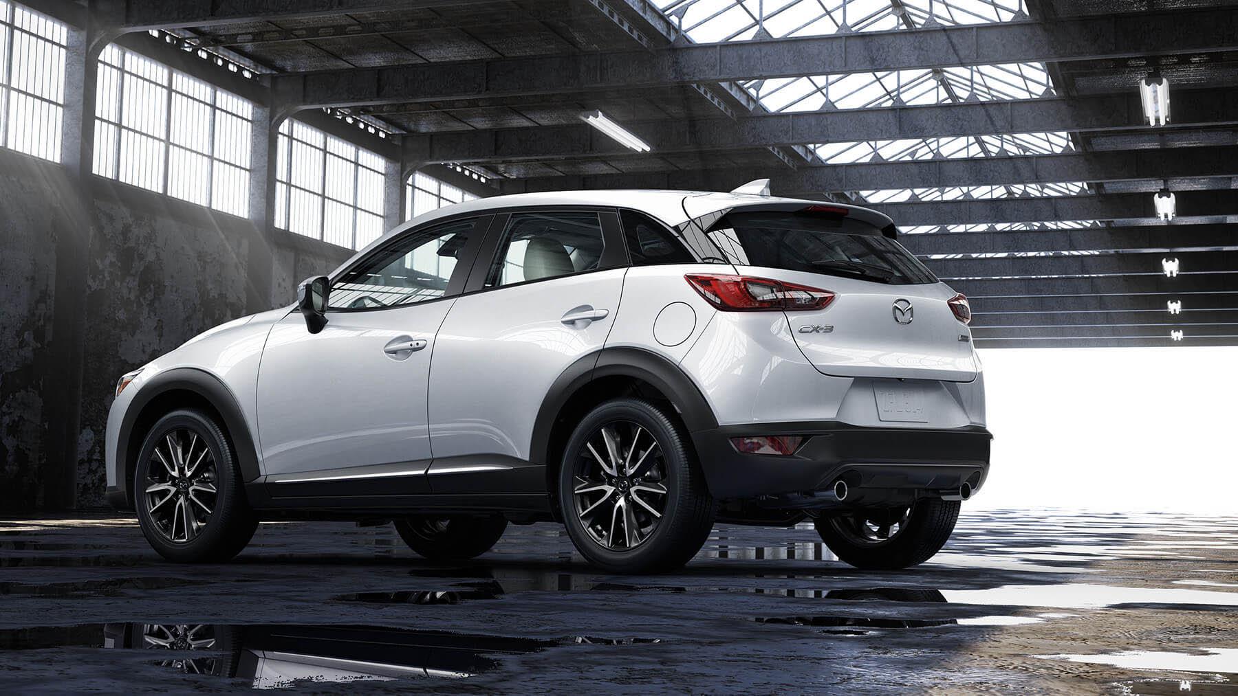 Mazda CX-3 2018 perfil posterior