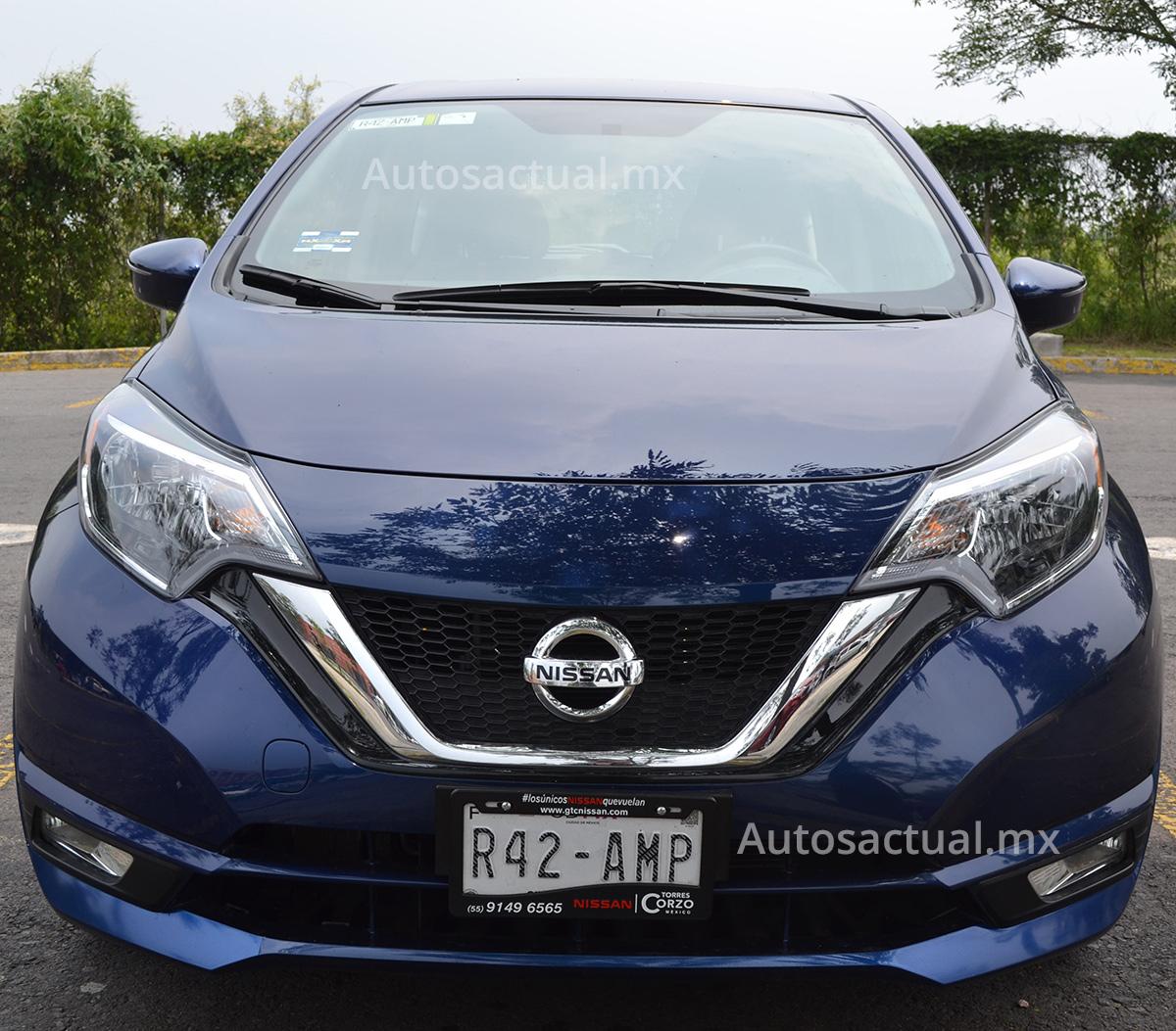 Nissan Note 2017 en garaje de Autos Actual