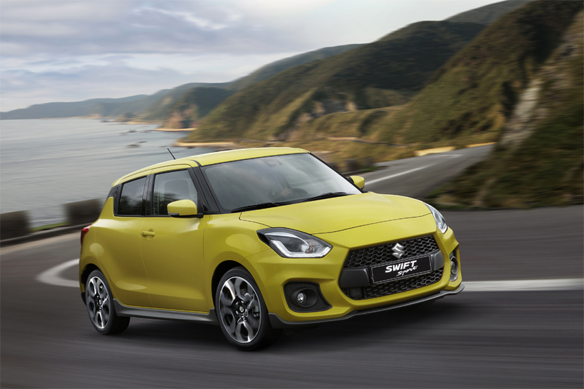 Suzuki Swift Sport 2018 perfil frontal