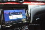 Suzuki Swift Boosterjet 2018 prueba en México pantalla touch con Android Auto y Apple CarPlay - pantalla principal