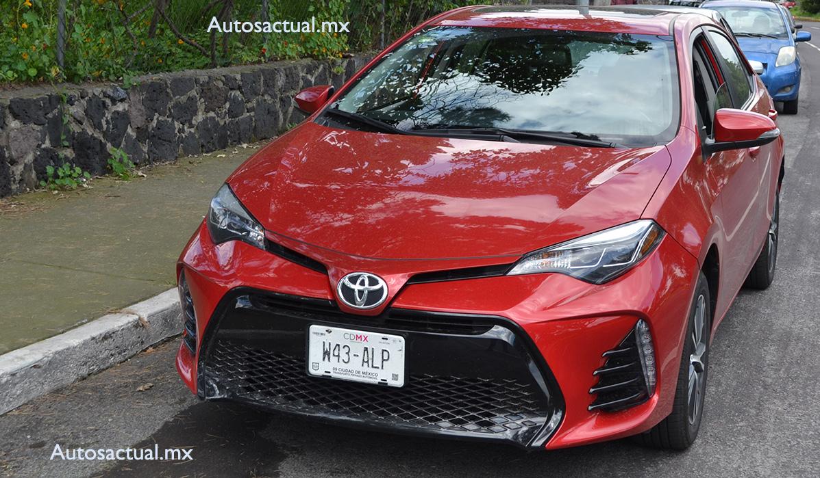 Toyota Corolla 2017 a prueba nuevo diseño