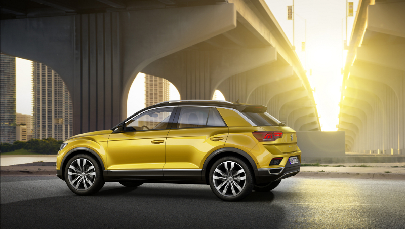 Volkswagen T-Roc Limited Edition lateral