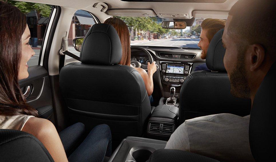 Nissan X-Trail 2018 asientos