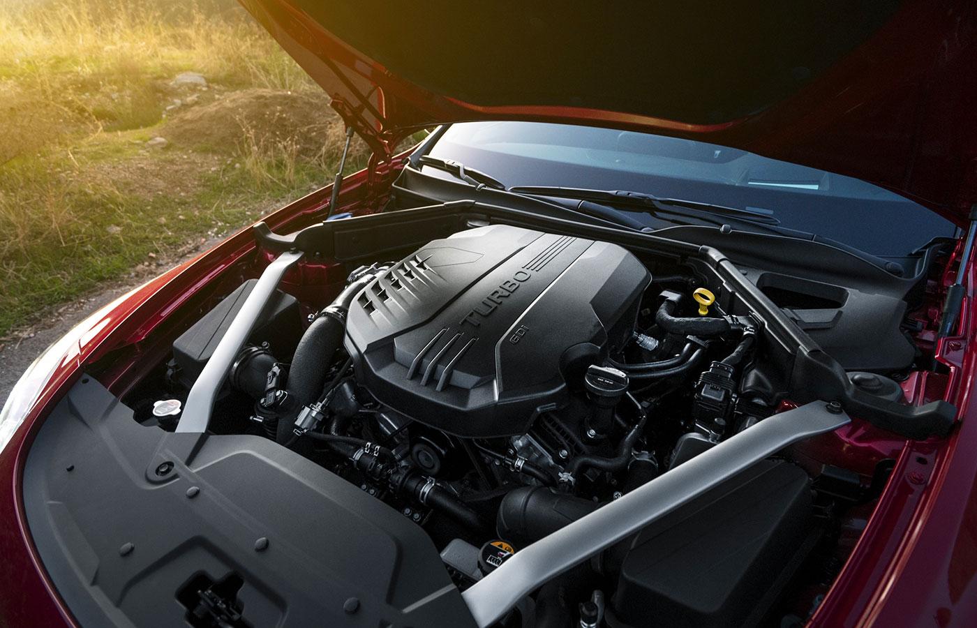 Kia Stringer 2018 motor