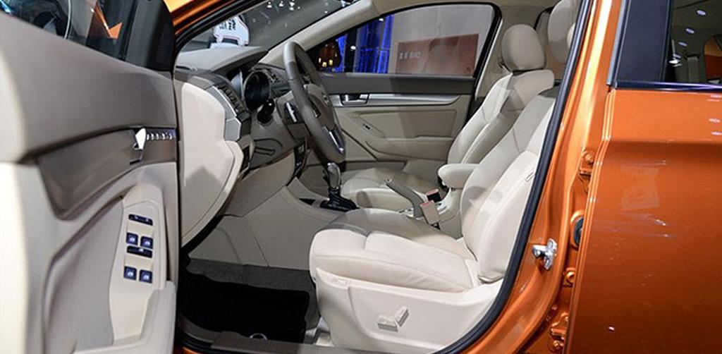 Baic X65 interior