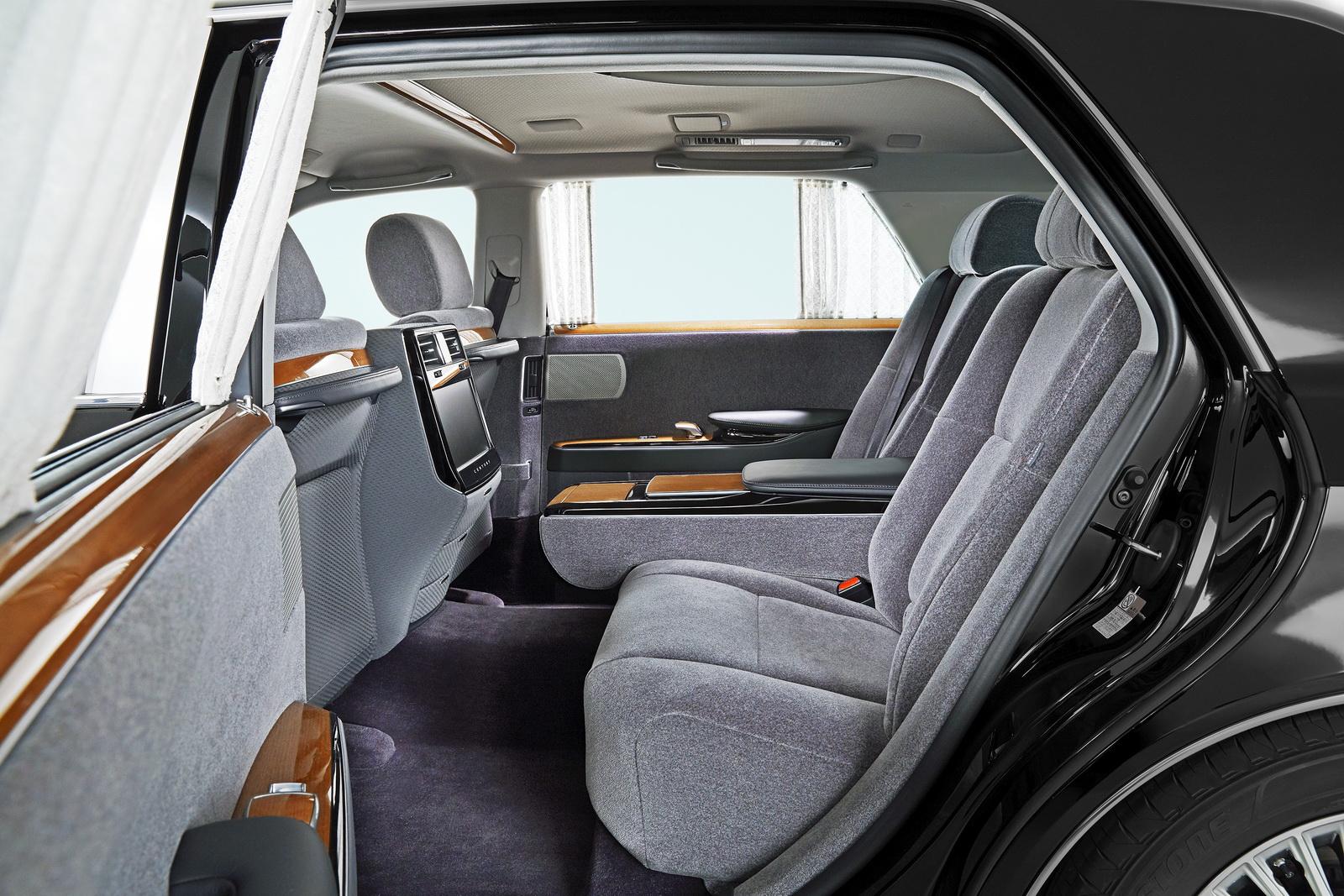 Toyota Century 2018 interior - Autos Actual México