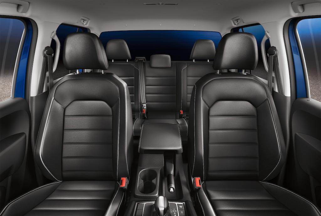 Volkswagen Amarok 2018 asientos