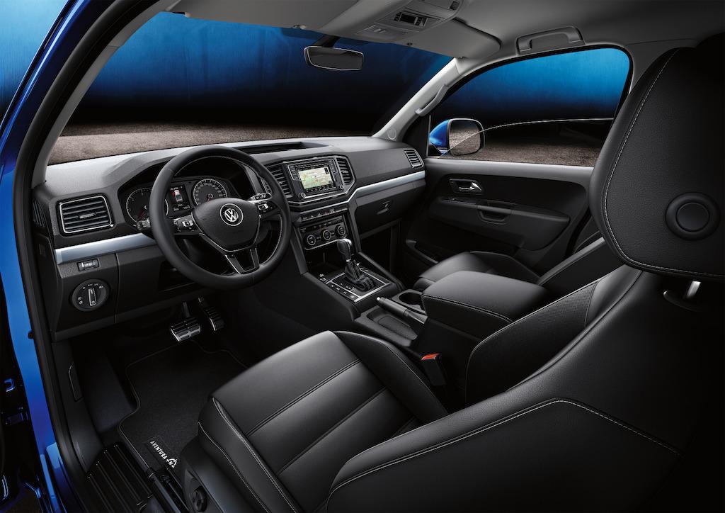Volkswagen Amarok 2018 interior
