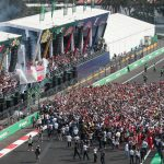Hamilton se corona campeón en la Fórmula 1 Gran Premio de México 2017