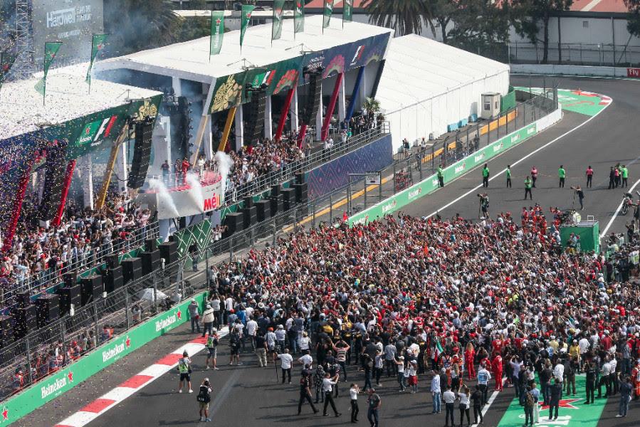 Fórmula 1 Gran Premio de México 2017